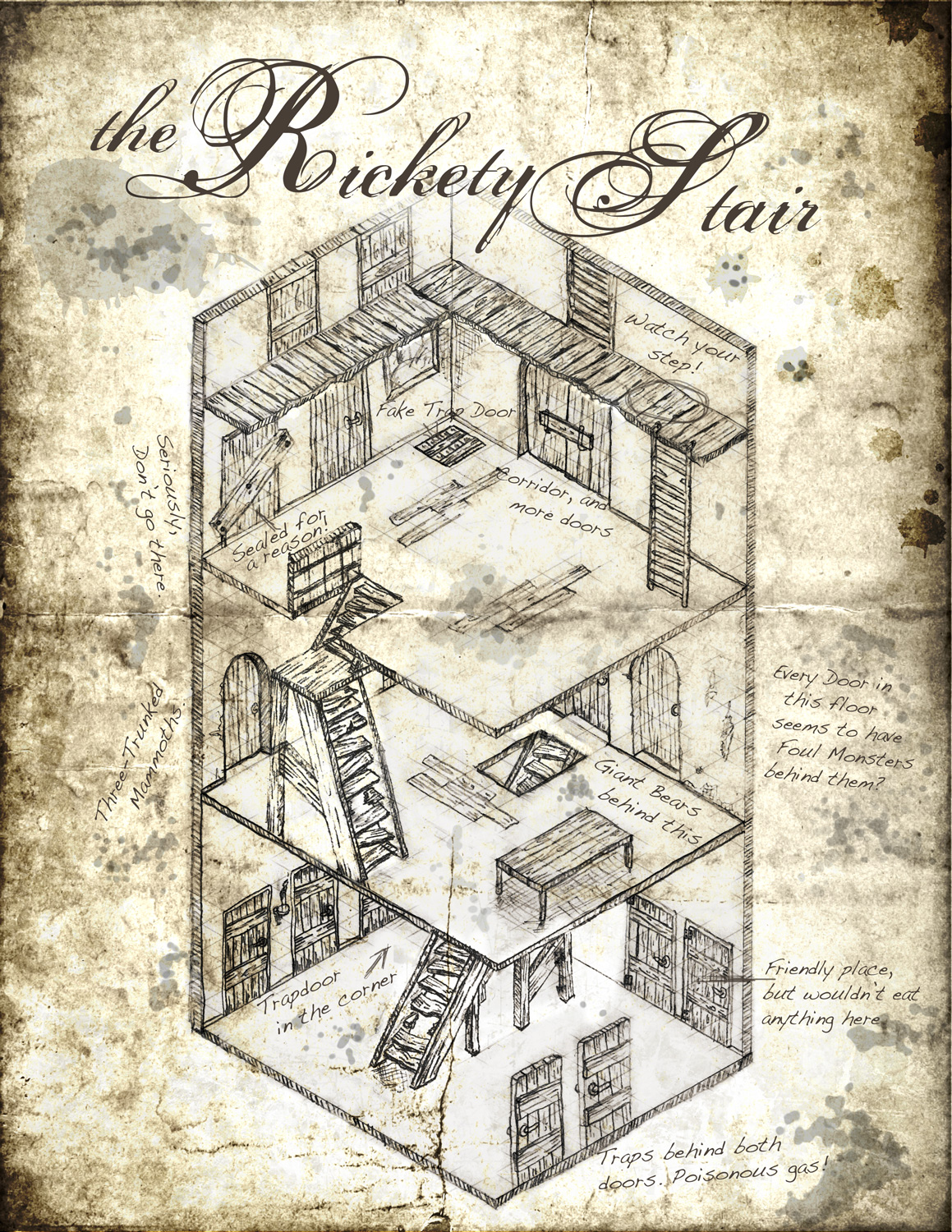 Dungeon Floor Plans Blog Cartography By Tommi Salama
