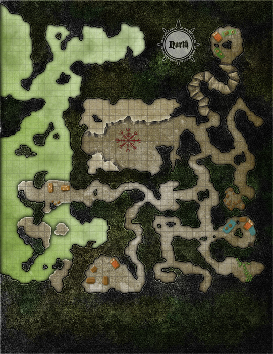 """(c) AAW Games 2015 """"Goblin Cave"""""""